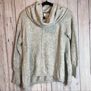 RUBY MOON ANTHROPOLOGIE | Cowl Neck Sweater Size L